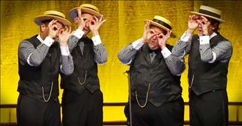 Barbershop Quartet Gives Modern Pop Songs An AMAZING Twist!