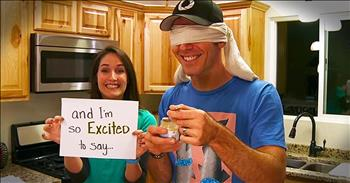 Wife Surprises Husband With Taste-Test Pregnancy Announcement