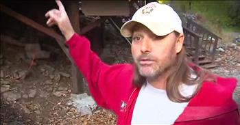 Half Naked Man Saves Dog From Mountain Lion
