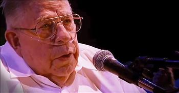 83-Year Old With Oxygen Sings Emotional Rendition Of 'Fix You'