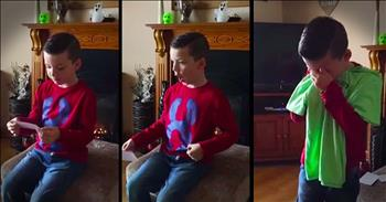 6-Year-Old Has Emotional Reaction To Becoming A Big Brother