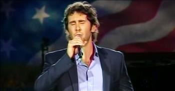 'War At Home' - Josh Groban Sings Original Song For Veterans