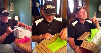 Daughter's Birthday Present To Dad Leaves Him In TEARS!