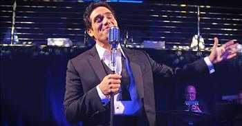 Broadway Star Sings Frank Sinatra's 'Come Fly With Me'