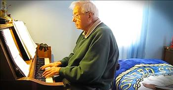 88-Year-Old Celebrates Birthday With Special Song