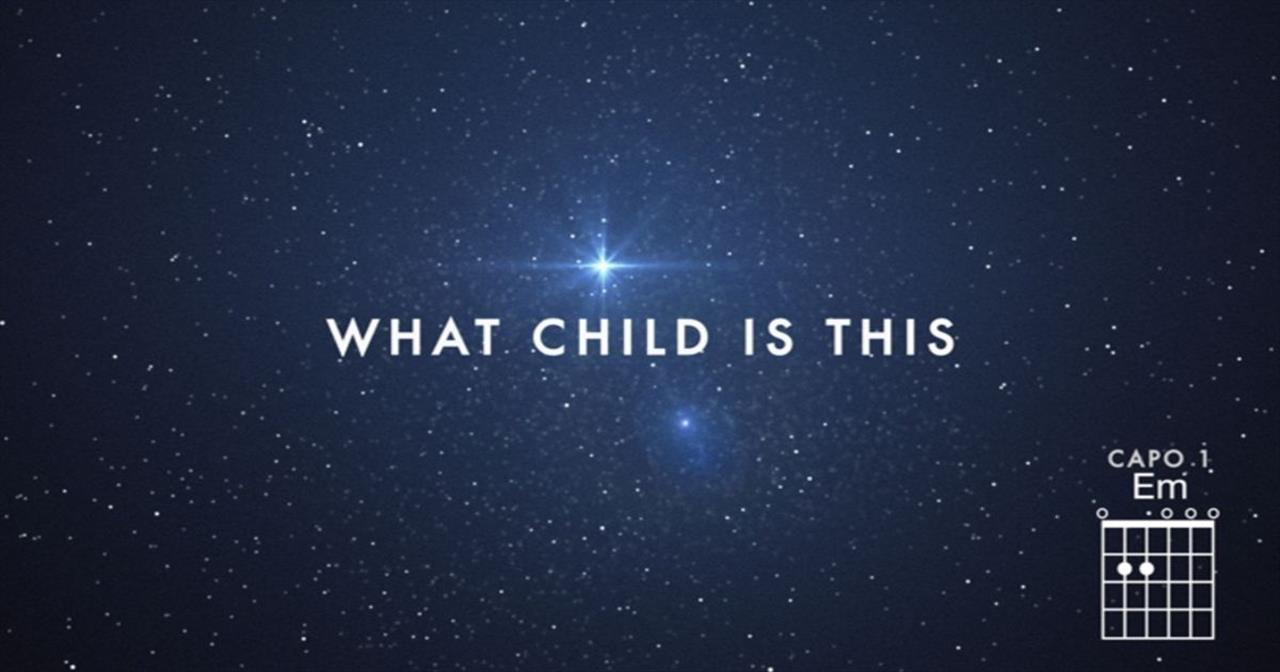 Chris Tomlin - What Child Is This? (featuring All Sons and Daughters)