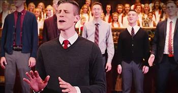 'One Single Bell' – A Cappella Group Joins Children's Choir For Christmas Tune