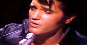 Elvis Singing 'Blue Christmas' Will Take You WAY Back!