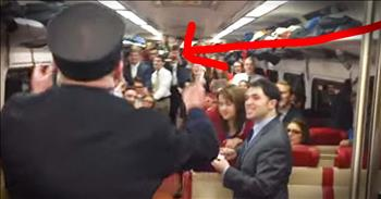 Train Conductor Leads Choir During Commute Surprise