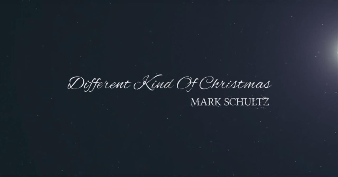 Mark Schultz - Different Kind of Christmas (Official Lyric Video)