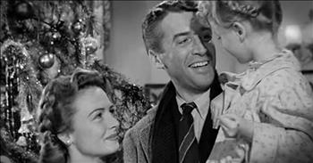 Touching Classic Scene From 'It's A Wonderful Life' – Tissues!