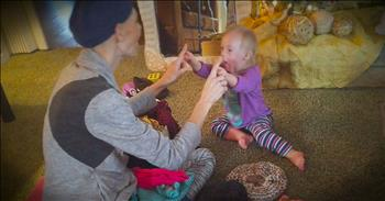 Cancer-Fighting Country Singer Spends Precious Moments With Baby Girl