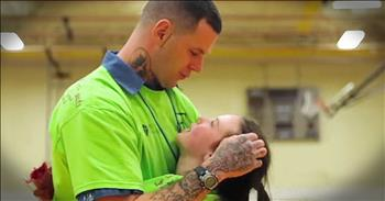 Church Helps Children Reunite With Fathers In Prison