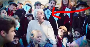 Dick Van Dyke Celebrates 90th Birthday With Flash Mob