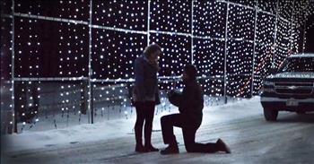 God Used Christmas Lights To Send Him The Love Of His Life