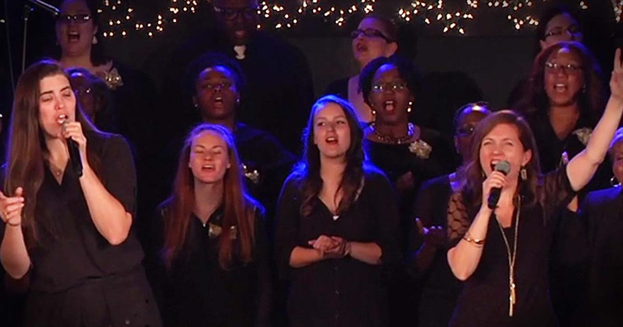 HE SHALL REIGN FOREVERMORE! - Inspiring Christmas Choir Performance!