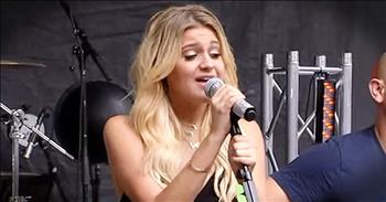 Kelsea Ballerini Sings Country Version Of 'Amazing Grace'