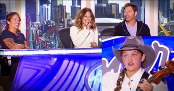 'Off The Grid' Country Girl's Audition Knocked The Judges' Socks Off