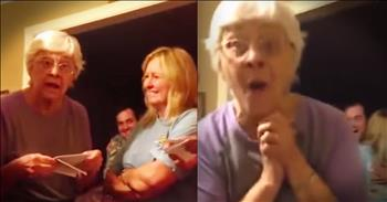 Great-Grandma's Triplet Surprise Is Too Cute To Miss