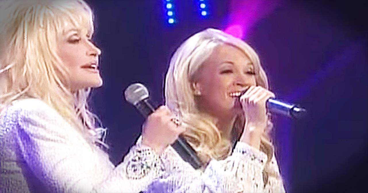 Carrie Underwood And Dolly Parton Sing 'I Will Always Love You'