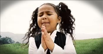 This Little Angel's Fight Song For Christ Is Praise-Worthy!