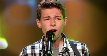 Young Boy's Audition Of 'So Lonely' Had ALL The Judges Attention