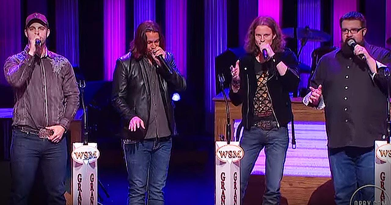'Ring Of Fire' Gets A Cappella Makeover...And It's AWESOME!