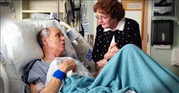 Sick Grandpa And Wife Sing 'You Are My Sunshine' In Hospital