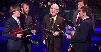 Steve Martin Sings 'Atheists Don't Have No Songs'