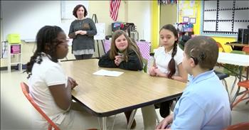 Kids Give Up Recess To Learn Sign Language