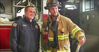 Luke Bryan Gives Firefighters Special 'Thank You'
