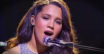 15-Year-Old's Rendition Of 'Go Rest High On That Mountain' WOWs Judges