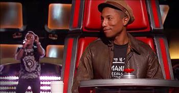 Christian Singer's 'Happy' Audition Had The Judges Smiling