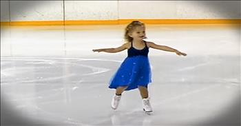 3-Year-Old Ice Skater Is All Kinds Of Adorable