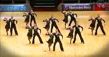Dance Medley Of Classic Songs Is Too Talented To Miss