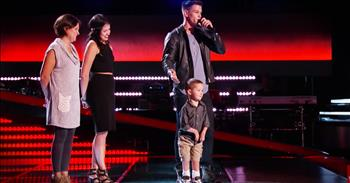The Voice Contestant Brings Son On Stage And Tells Heartwarming Story