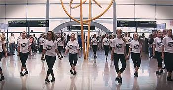 Irish Dance Flashmob in Dublin Airport