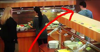 Man Verbally Abuses 'Fat' Woman At Buffet Before Strangers Step In