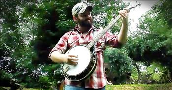 Banjo Rendition Of 'Amazing Grace' Is A Whole New Experience!