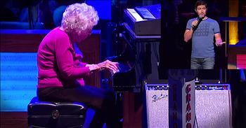 Country Singer's Grandma-In-Law Plays 'How Great Thou Art' On Grand Ole Opry