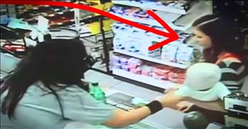 Store Clerk Grabbed Stranger's Baby Moments Before Mother Collapsed
