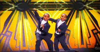 Tap Dancing Twins Are Dance Sensations!