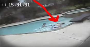 5-Year-Old Miraculously Saves Mom From Drowning