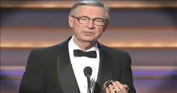 Mr. Rogers' Powerful Acceptance Speech Will Leave You Feeling Blessed
