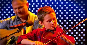 11-Year-Old Bluegrass Fiddler Is Beyond Talented!