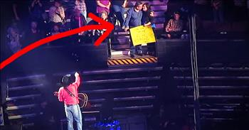 Garth Brooks Stops Concert To Sing To Fan In Audience