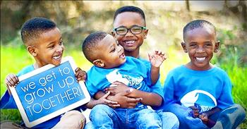 4 Brothers In Foster Care Are Adopted By 2 Loving Families