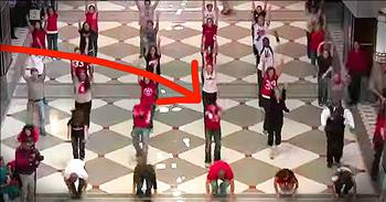 Singing And Dancing Student Flash Mob Is Too Good To Miss!