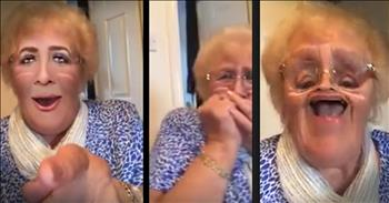 Granny's Hillarious Discovery Of 'Face Swap' Will Leave You Rolling