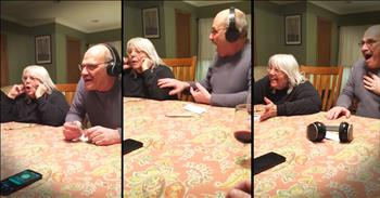 Great-Grandparents-To-Be Learn About Pregnancy Through Hilarious Game